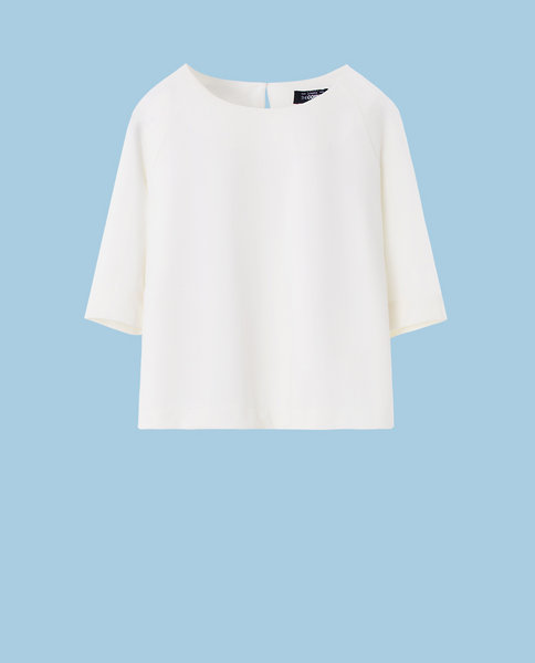 RAGLAN SLEEVE TOP (WHITE)