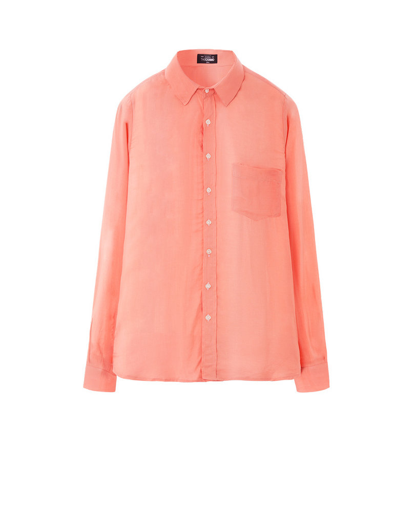 VISCOSE SHIRT (ORANGE)