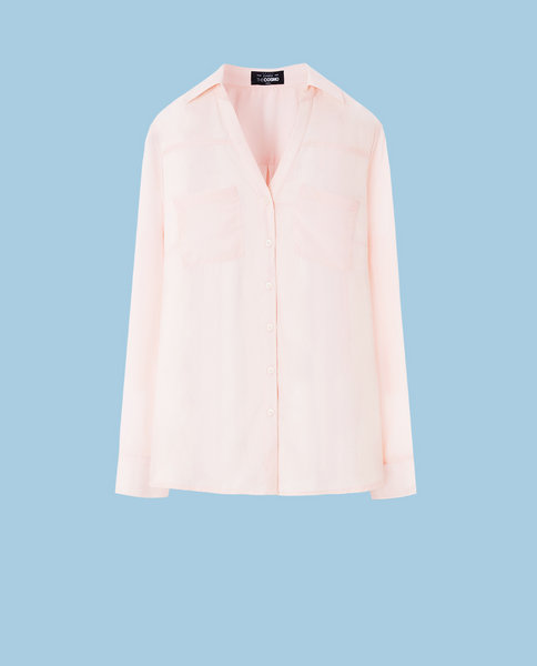 POCKET BLOUSE (PINK)