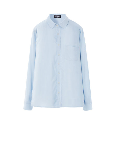 VISCOSE SHIRT (LIGHT BLUE)