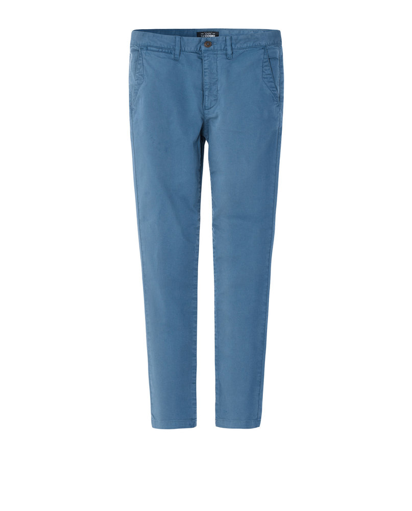 GARMENT-DYED CHINOS ( BLUE)