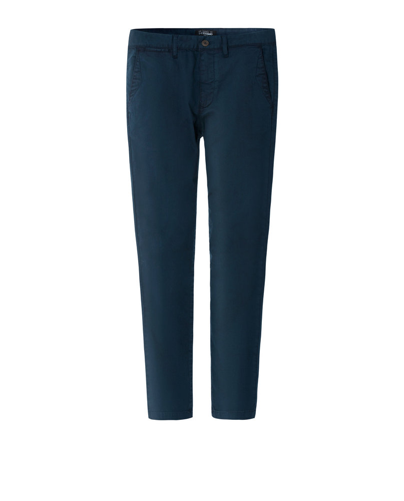 GARMENT-DYED CHINOS (NAVY)