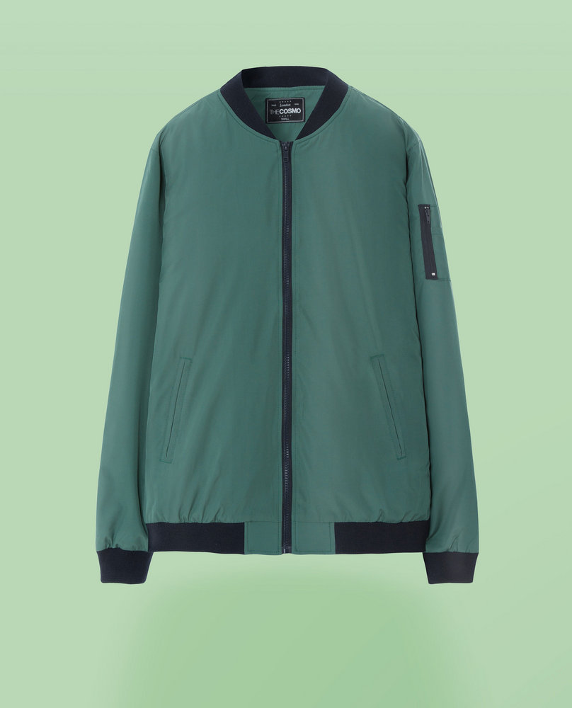 BOMBER JACKET (GREEN)