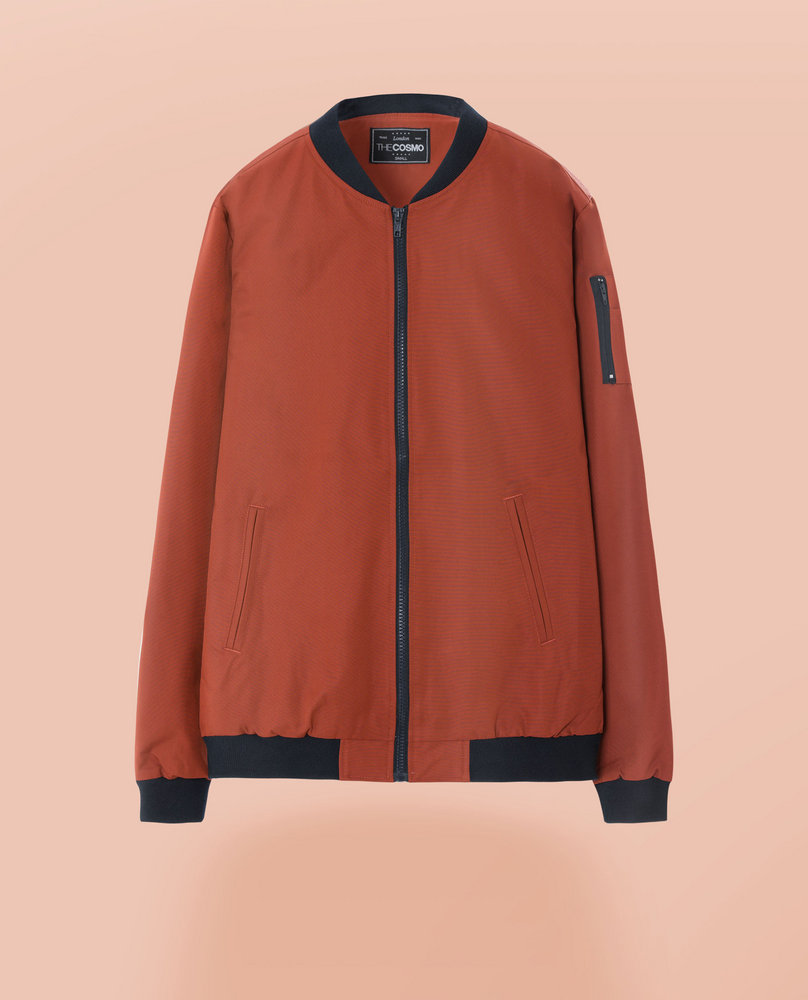 BOMBER JACKET (ORANGE)