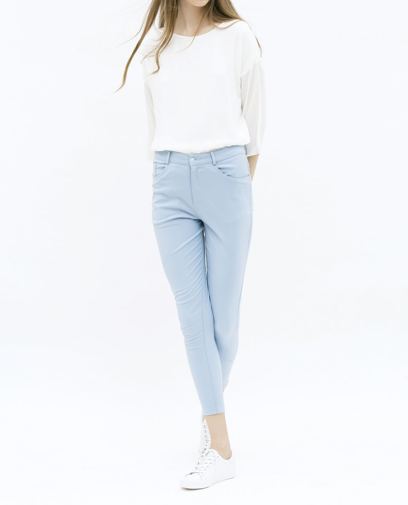 SKINNY TROUSERS (LIGHT BLUE)