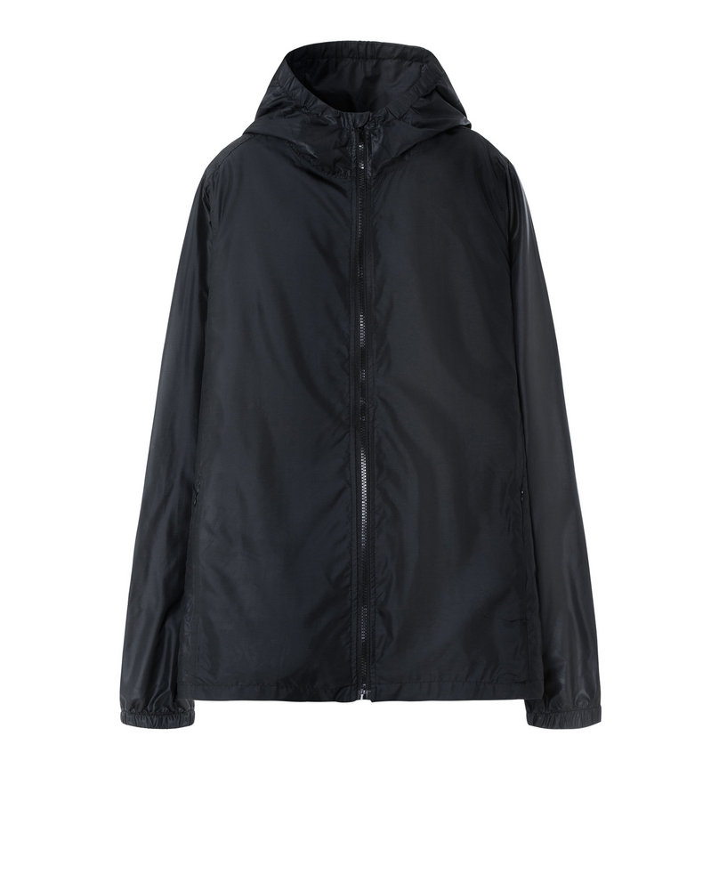 WINDBREAKER JACKET (BLACK)