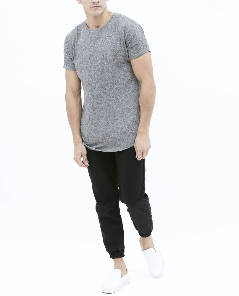 LONG T-SHIRT (DARK GREY)