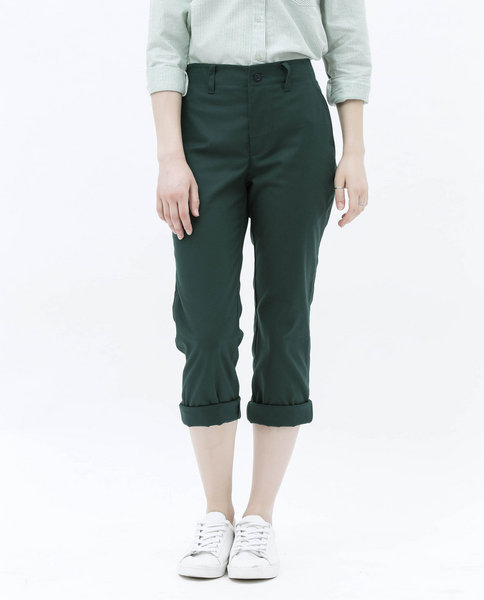 BAGGY TROUSERS (GREEN)
