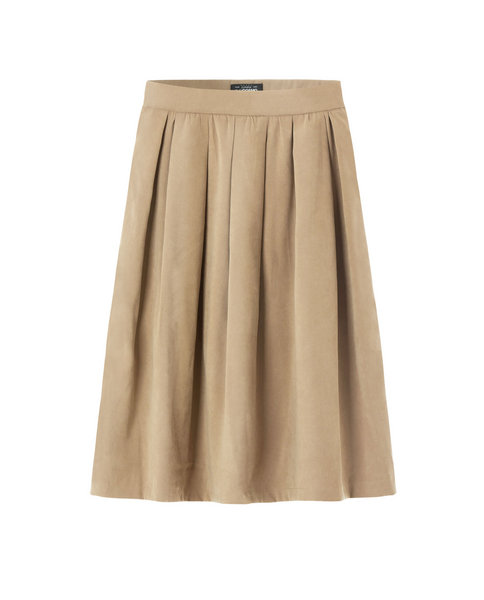 SUEDE SKIRT (SAND)