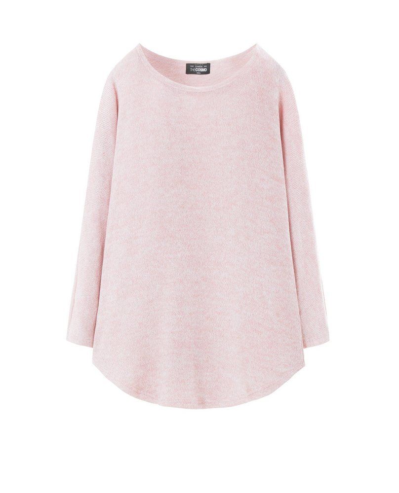 BOAT KNIT TEE (PINK)