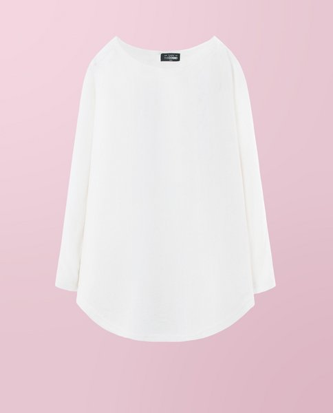 BOAT KNIT TEE (WHITE)