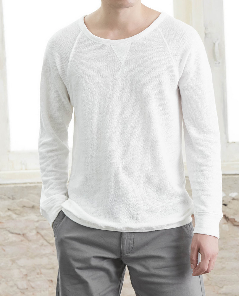 MEN SWEATSHIRT (WHITE)