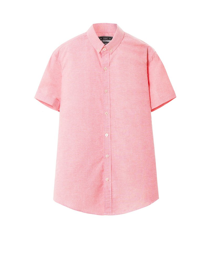 SHORT SLEEVE SHIRT (CORAL)