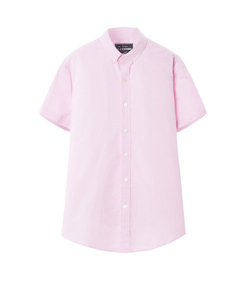 SHORT SLEEVE SHIRT (PINK)