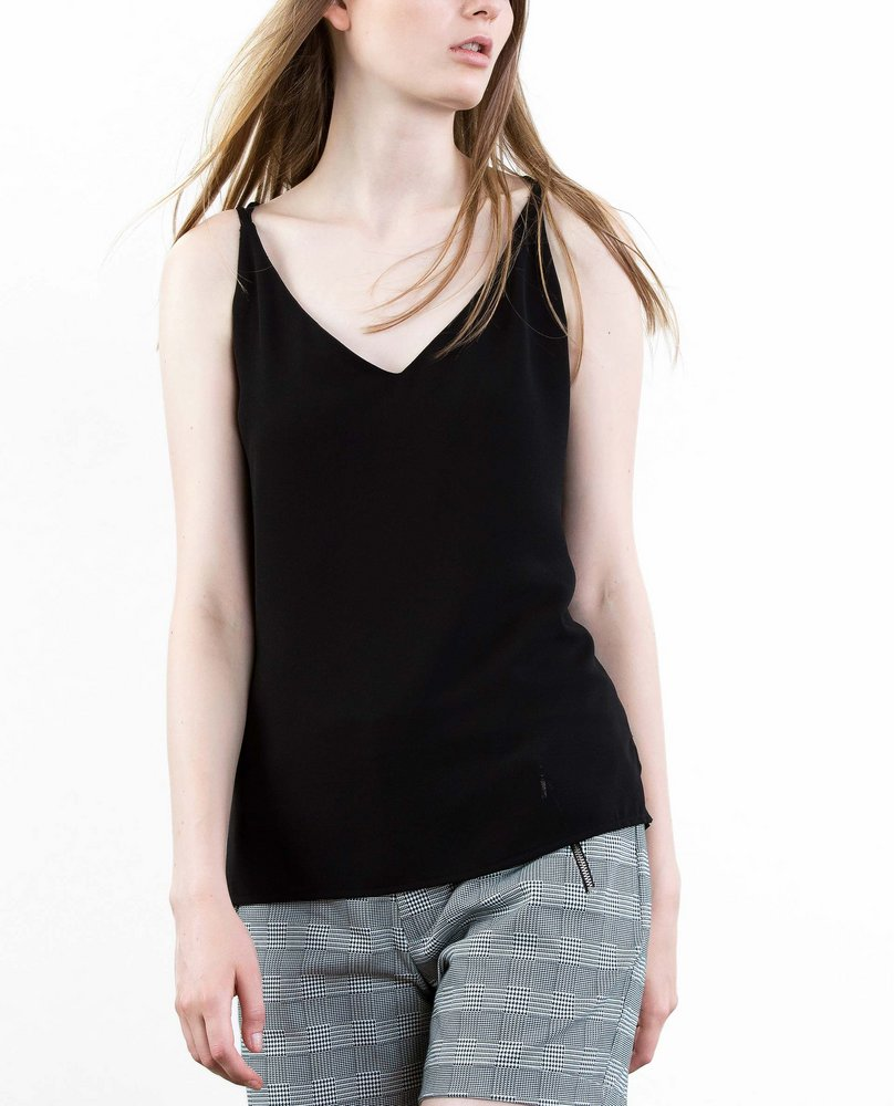 DOUBLE STRAP TOP (BLACK)