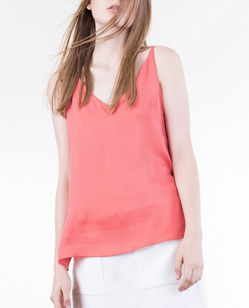 DOUBLE STRAP TOP (PINK)