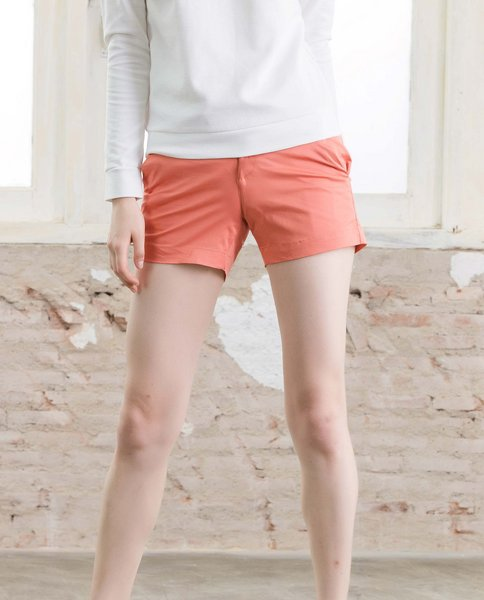 CHINO SHORTS (ORANGE)