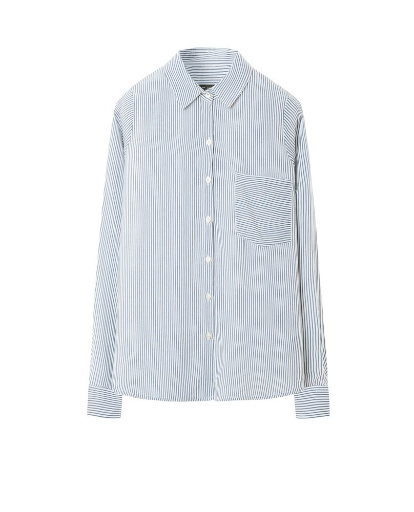 STRIPE SHIRT (GREY)