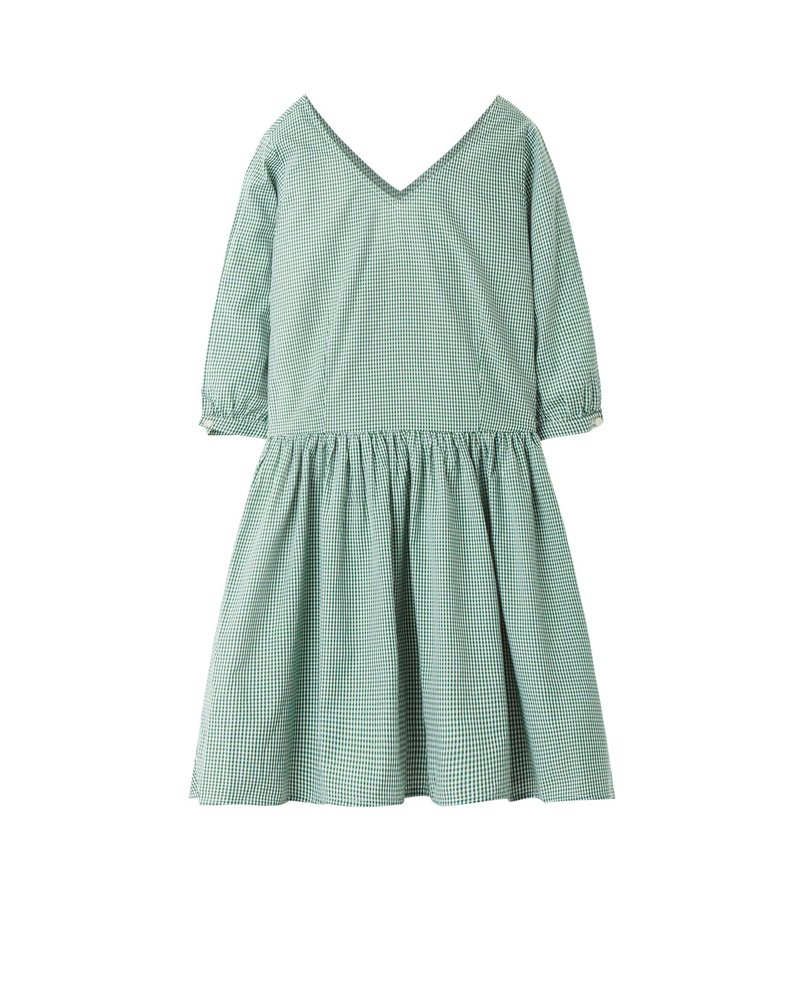 BABYDOLL DRESS (GREEN)