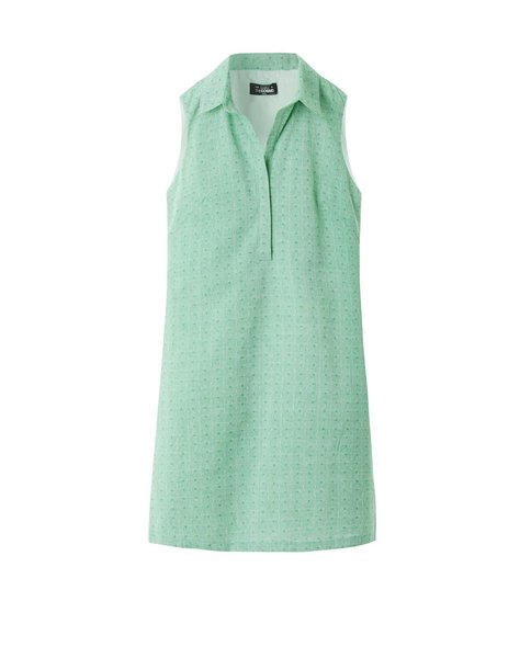 COTTON SHIRT DRESS (APPLE)