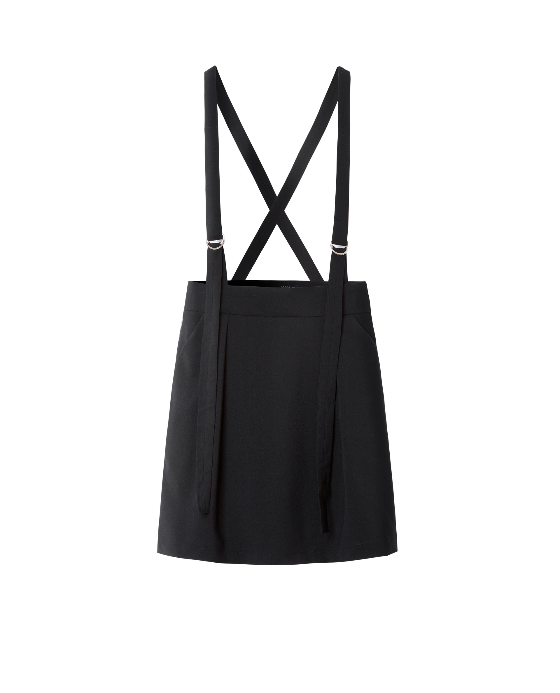 PINAFORE DRESS (BLACK)