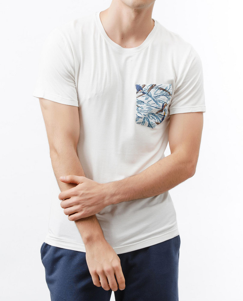 POCKET T-SHIRT (PARROT)