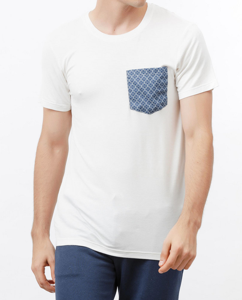 POCKET T-SHIRT (BLUE TEE)