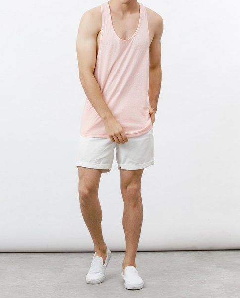 SLEEVELESS TOP (PINK)