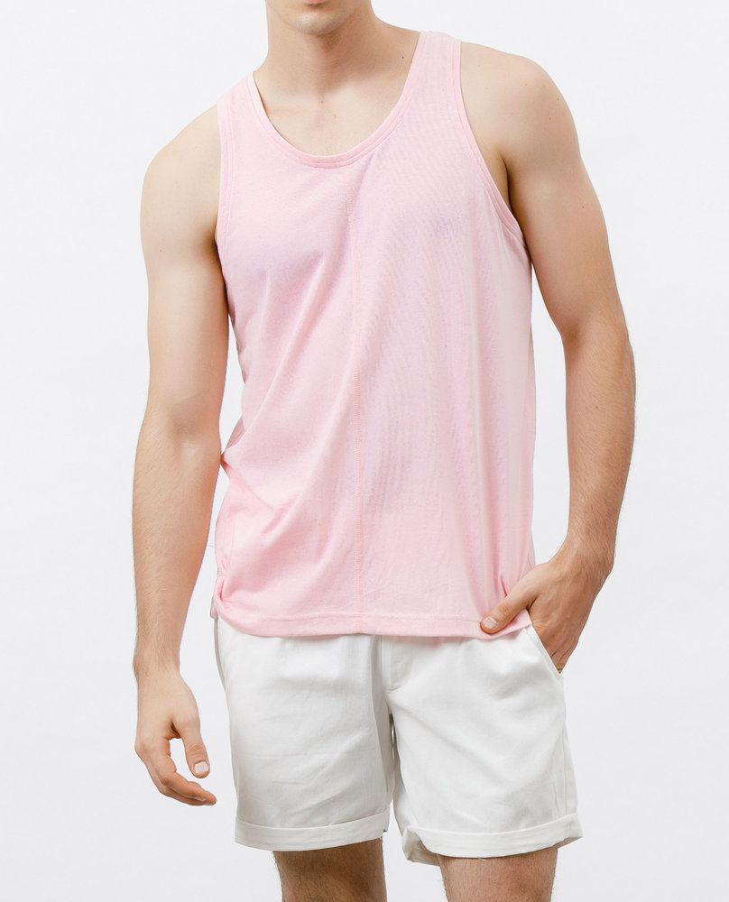 SLEEVELESS TOP (FLAMINGO)
