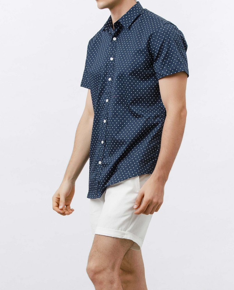 SHORT SLEEVE SHIRT (MARINE)
