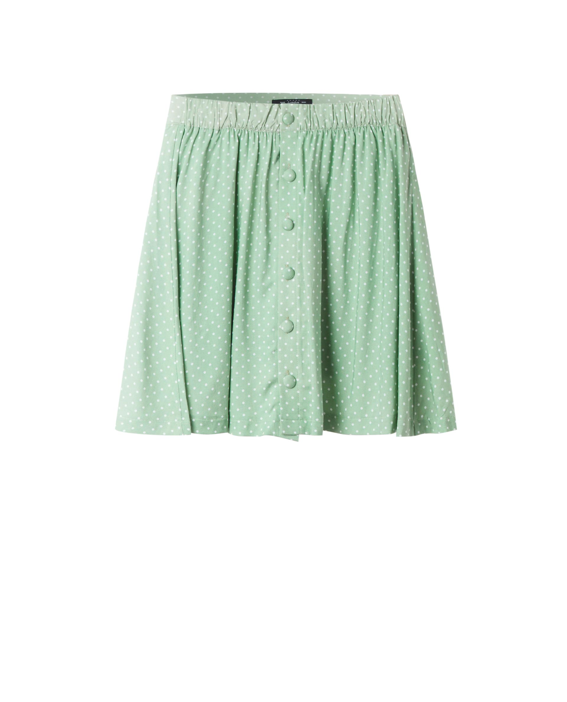 POLKA DOT SKIRT (MINT)