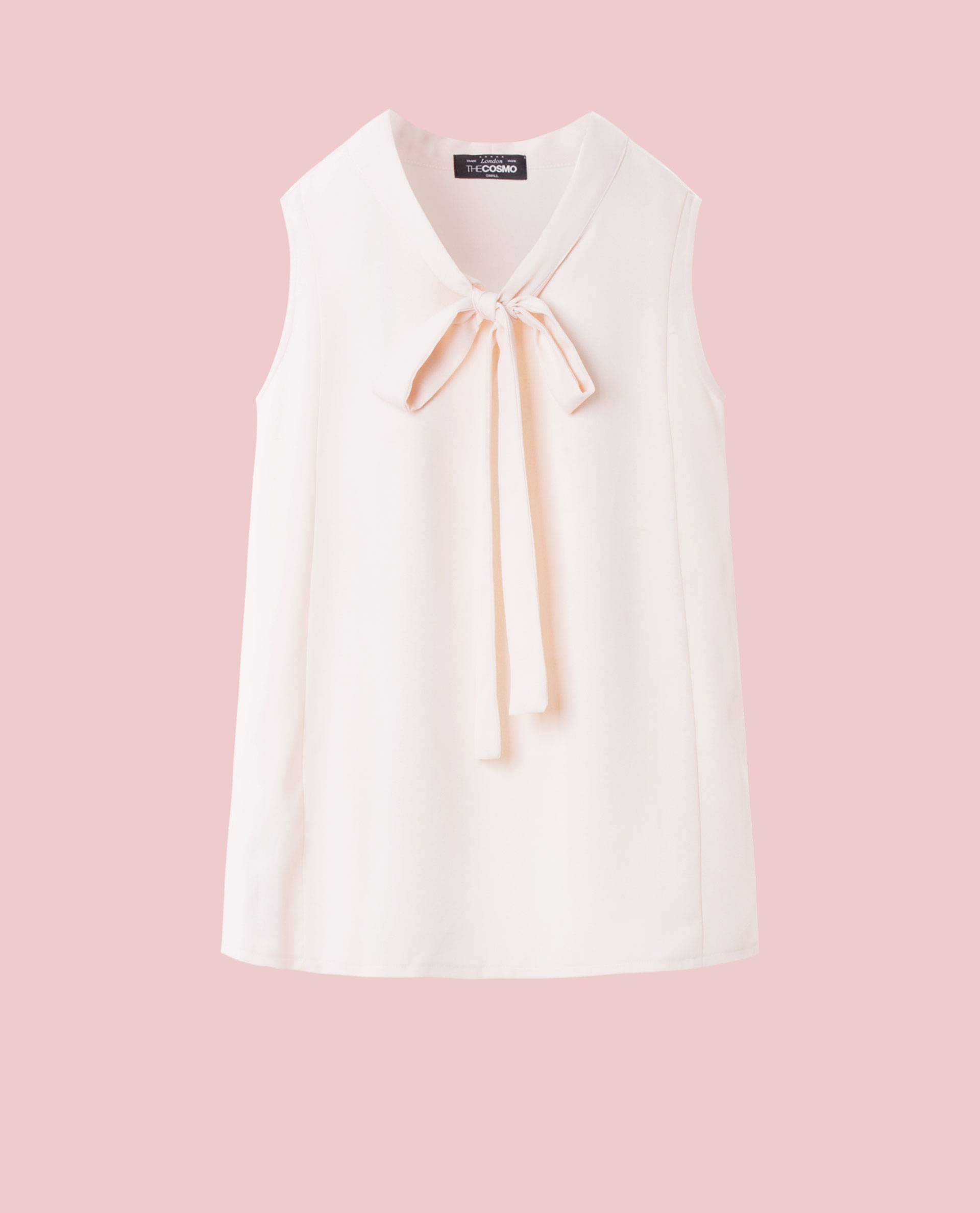BOW TIE TOP (PINK)