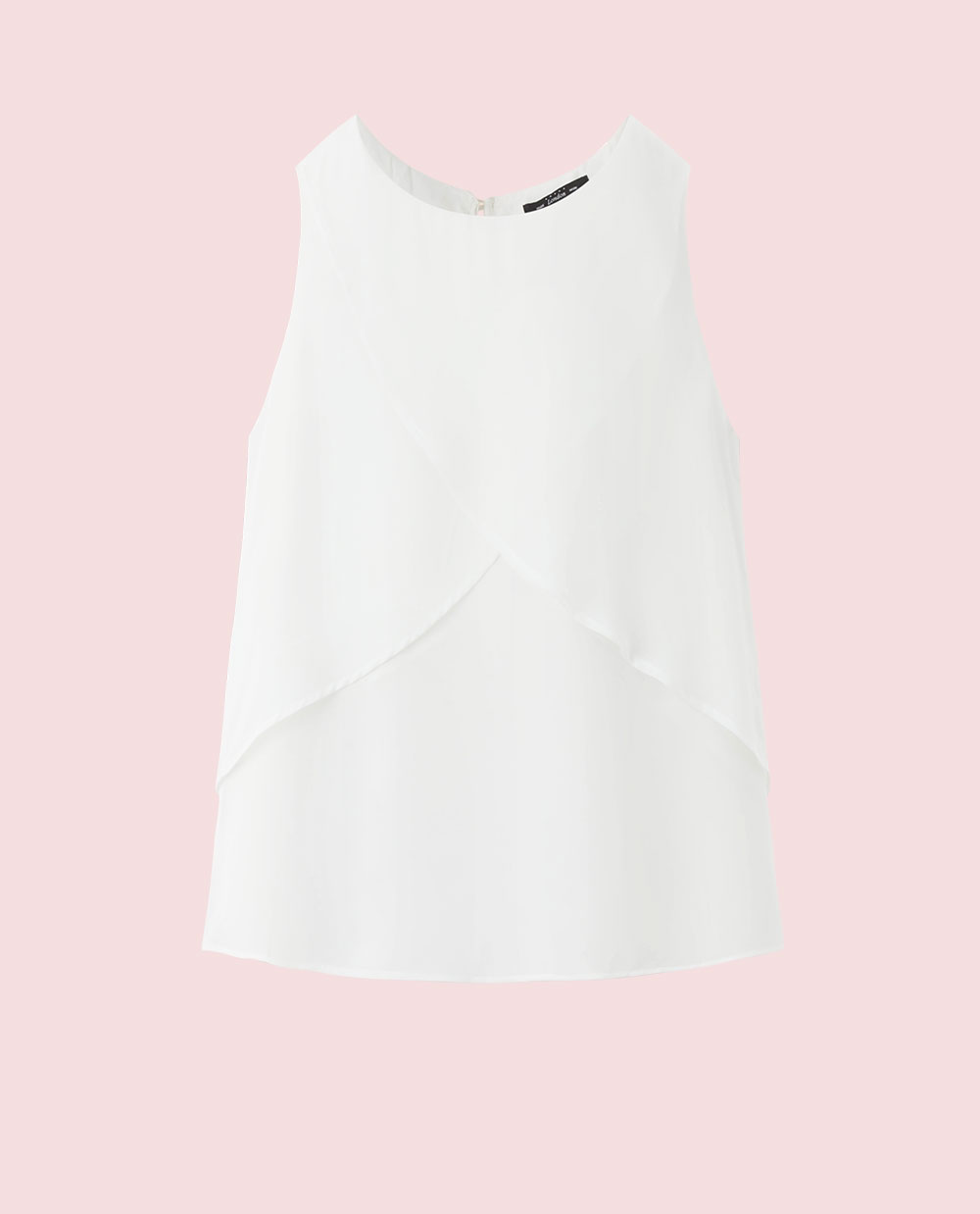 DOUBLE LAYER TOP (WHITE)