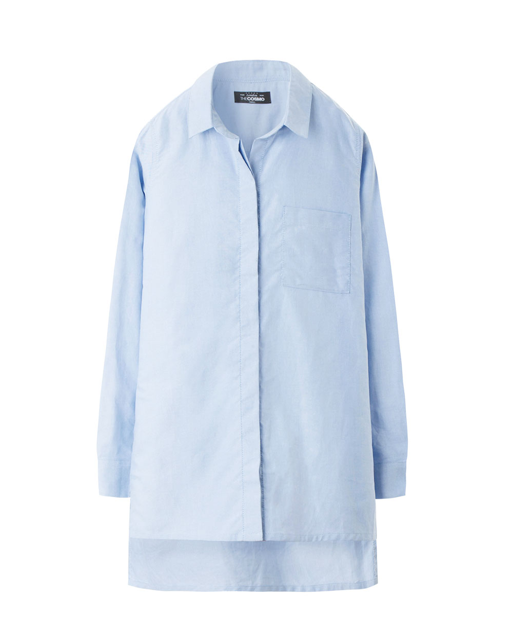 OVERSIZED SHIRT (BLUE)