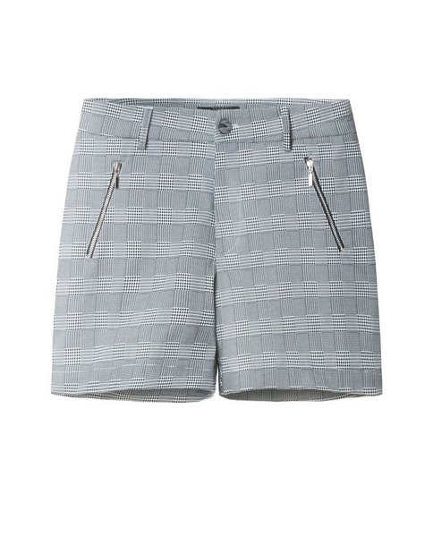 SHORTS WITH ZIP (GREY)
