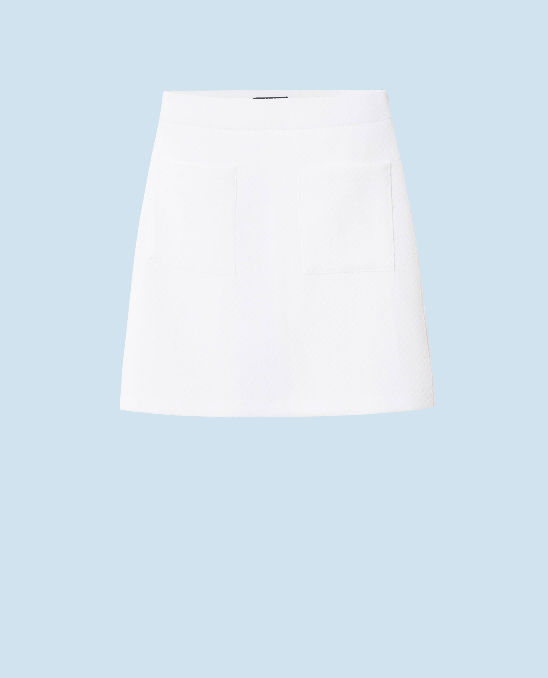 POCKET SKIRT (WHITE)