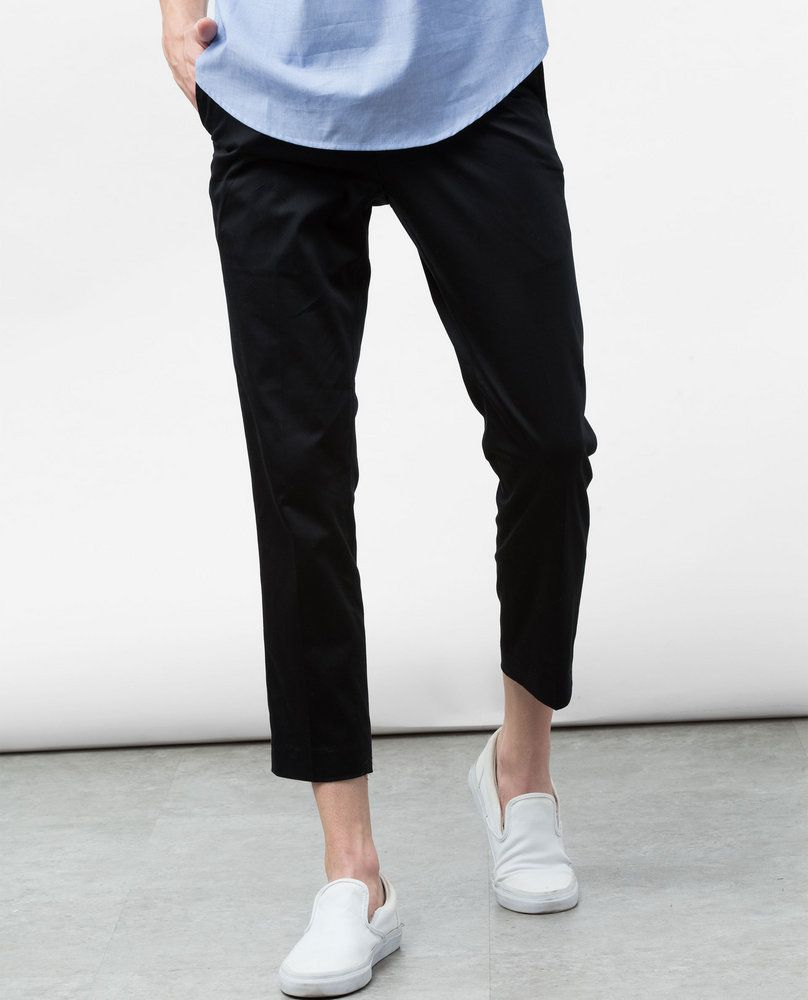 SMART TROUSERS (BLACK)