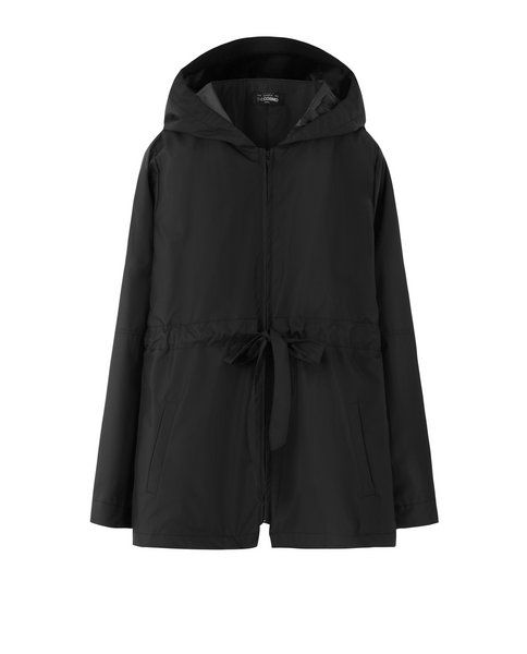RAINCOAT (BLACK)