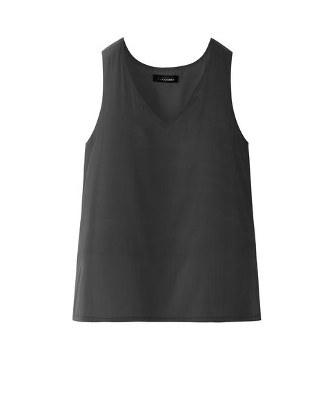 V-NECK TOP (BLACK)