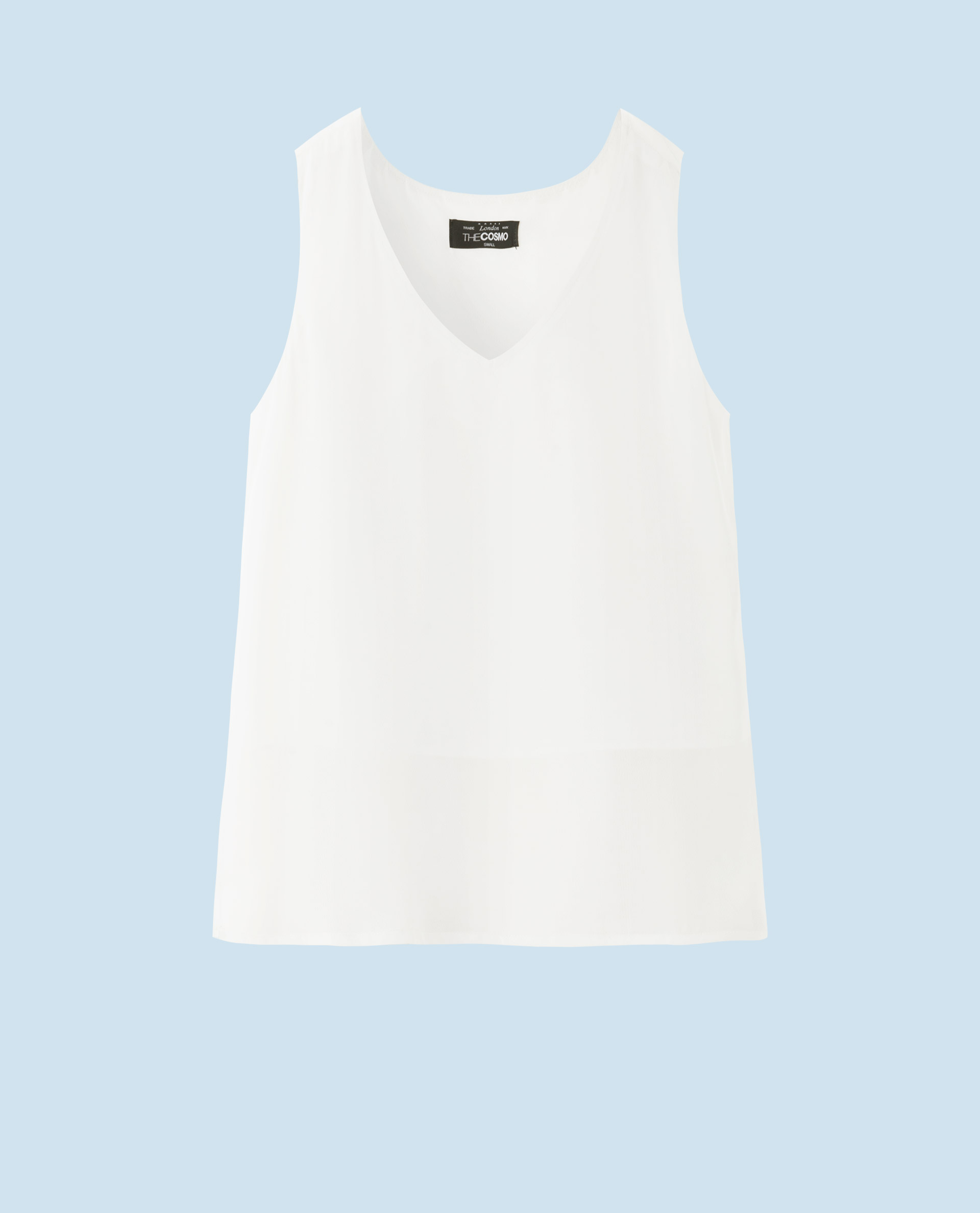 V-NECK TOP (WHITE)