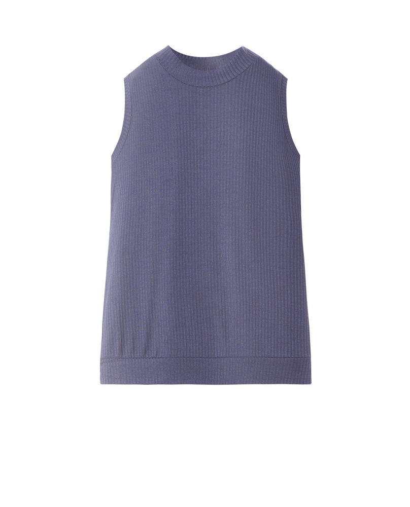 RIBBED TOP (LAVENDER)