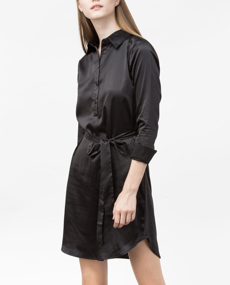 SHIRT DRESS (MIDNIGHT)