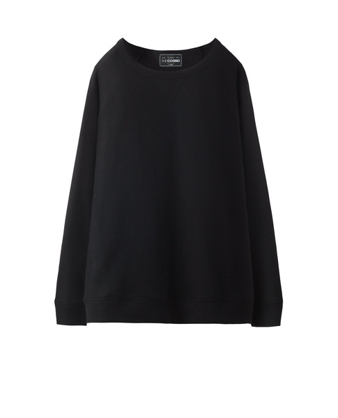 TEXTURED SWEATSHIRT (MIDNIGHT)