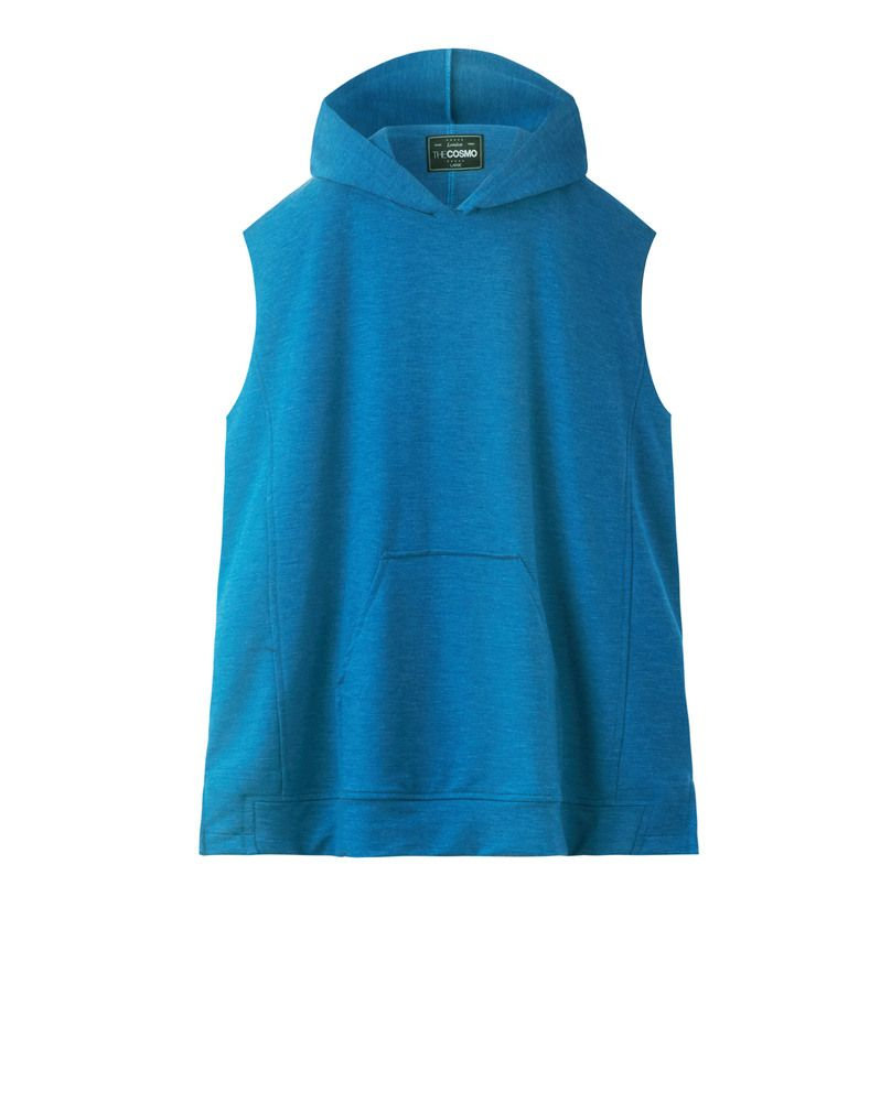 SLEEVELESS HOODY (CANARD)