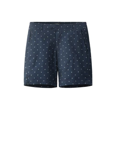 PRINTED SHORTS (NAVY)