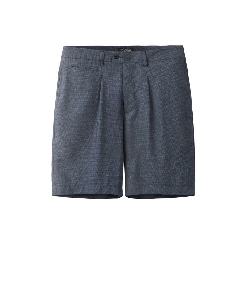 SHORTS WITH PLEAT (DUSK)