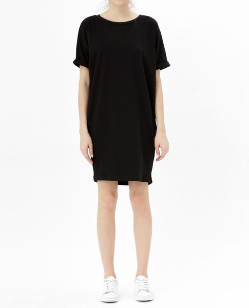 COCOON DRESS (BLACK)