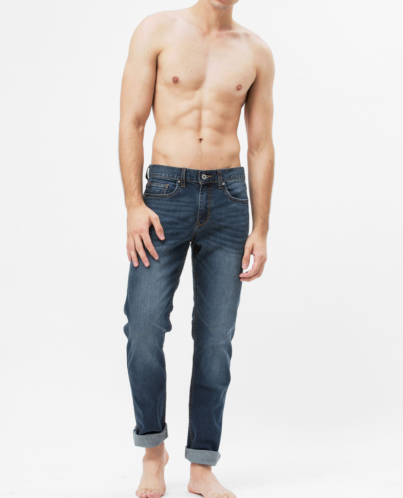 SLIM FIT JEANS (DARK)