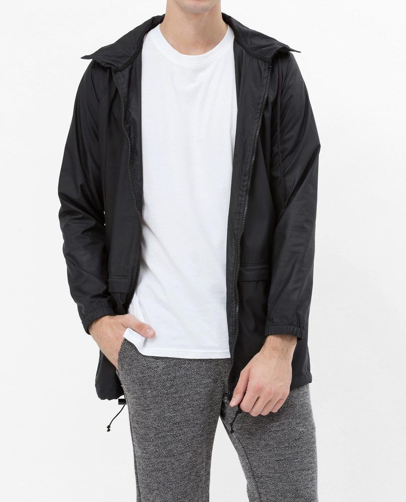 WATERPROOF WINDBREAKER (BLACK)