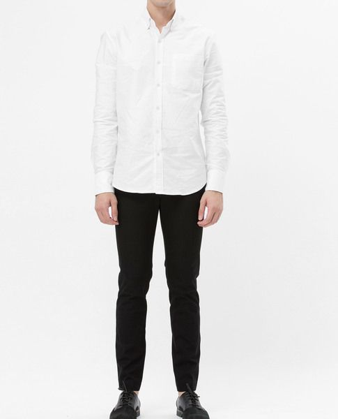 BASIC OXFORD SHIRT (WHITE)
